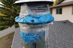 Inappropriate-materials-used-on-chimney