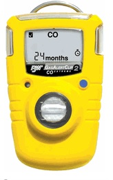 Carbon monoxide (CO) is a tasteless, odorless, toxic gas produced by combustion appliances, such as water heaters, furnaces and boilers. CO can accumulate in the human body over time to a point at which it can be fatal. We carry a detector with us at all times throughout the home.