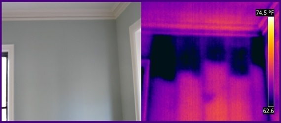 thermal inspection of your walls