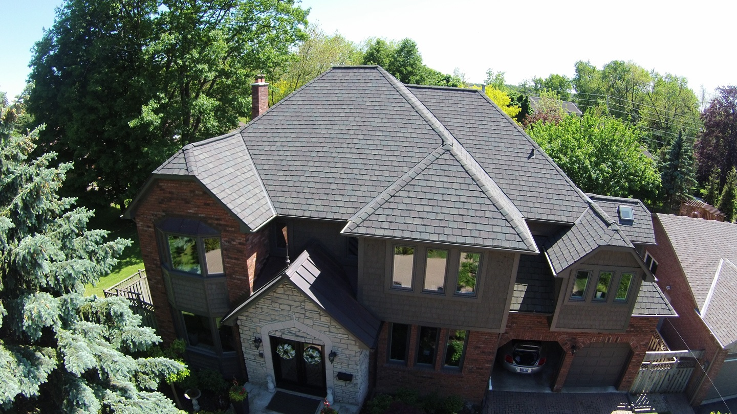 This service is ideal for steep-pitch roofs that cannot be safely climbed, as well as taller buildings without direct roof access.