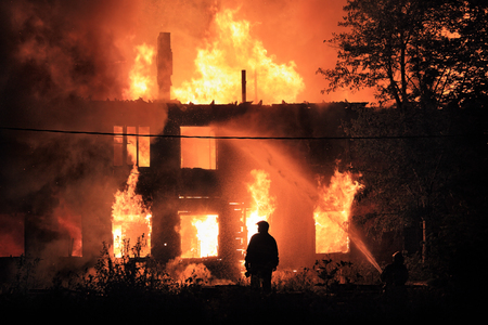 Newer Home Burning | Accurate Home Inspections Calgary